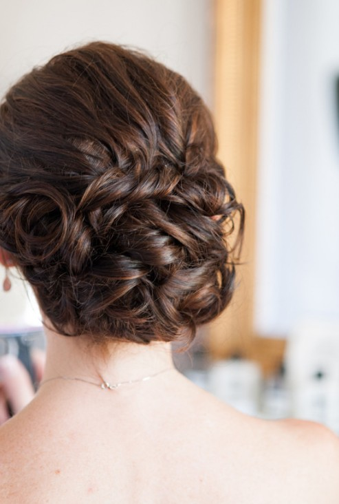 20 Glamorous Wedding Updos For Brides