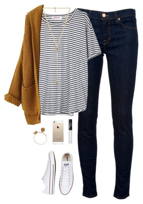 1d7f46e0521 25 Cute Casual-Chic Outfit Ideas for Fall 2018 - Pretty Designs
