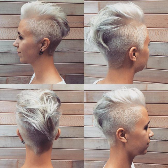 25 Trendy Faux Hawk Hairstyles for Women 2018