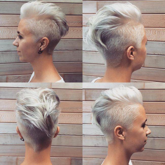 28 Trendy Faux Hawk Frisuren für Frauen 2019