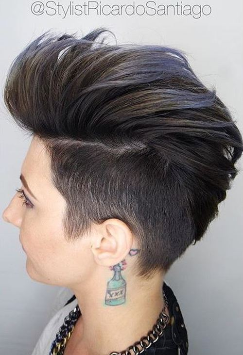28 Trendy Faux Hawk Hairstyles For Women 2020 Pretty Designs