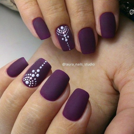 30 cool nail art ideas for 2018 easy nail designs for beginners pretty designs Cool nail design ideas at home