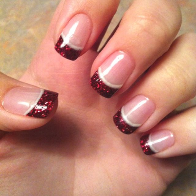 30 Fantastic French Manicure Designs - Best French Manicure Ideas