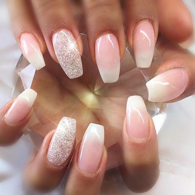 ... 30 Wonderful Ombre Nail Designs for 2018 ... - 50 Best Ombre Nail Designs For 2019 - Ombre Nail Art Ideas - Pretty
