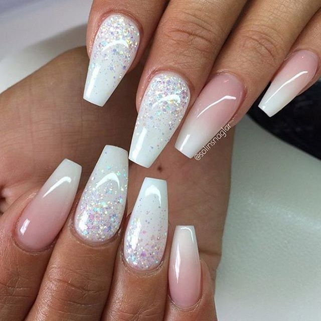 30 Wonderful Ombre Nail Designs for - 50 Best Ombre Nail Designs For 2019 - Ombre Nail Art Ideas - Pretty