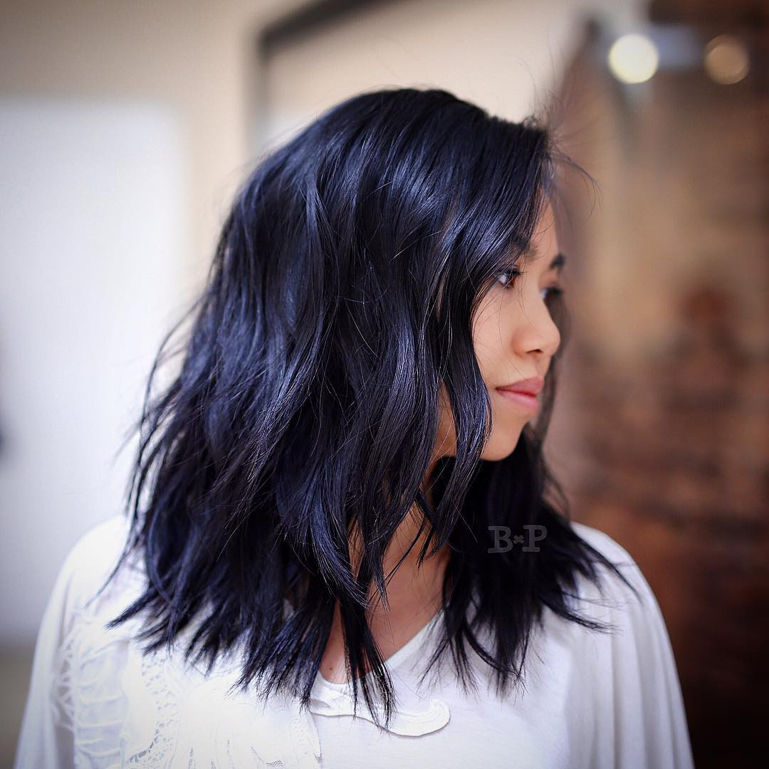 33 Stunning Hairstyles for Black Hair 2019 Hairstyles  zwart haar Look Pretty Hairstyles Long hair Lob Layered hair Hairstyles in the 1950s hairstyles Hair fashion Eponymous hairstyle Culture Bob cut bangs Aesthetics