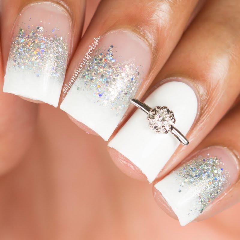 35 Glamoureuze bruilofts nail art-ideeën voor 2019 - Beste bruidsspijkerontwerpen