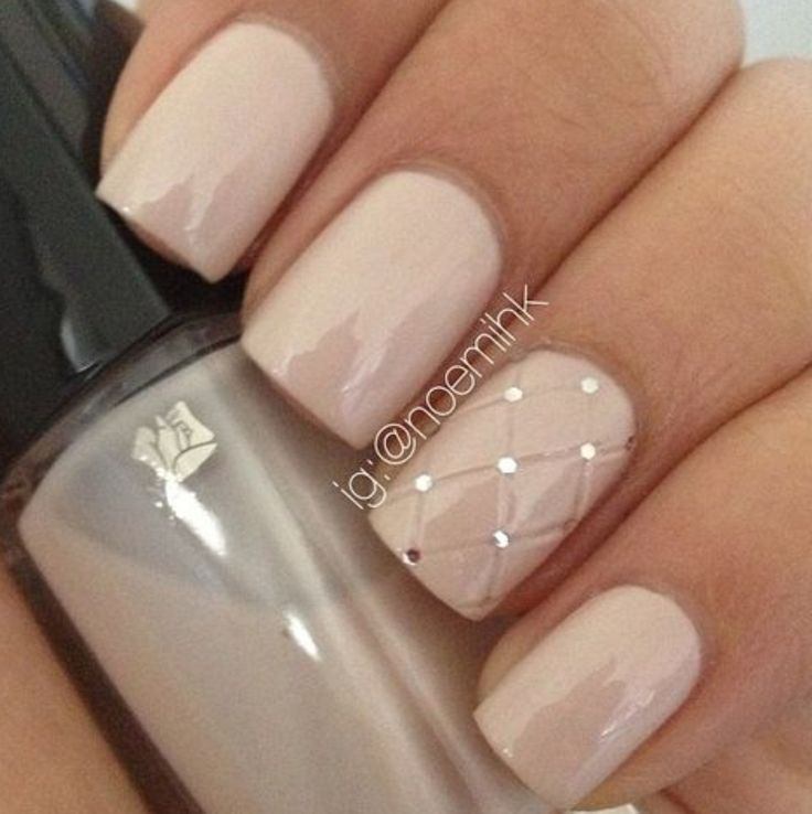 35 Glamorous Wedding Nail Art Ideas For 2018