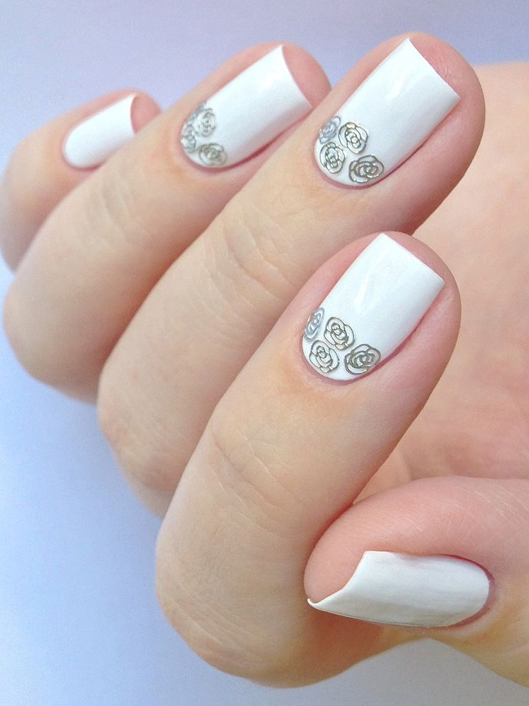 35 Glamorous Wedding Nail Art Ideas For 2019