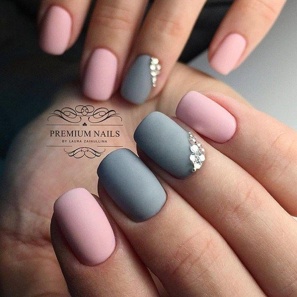 37 super easy nail design ideas for short nails pretty designs 37 super easy nail design ideas for short nails prinsesfo Gallery