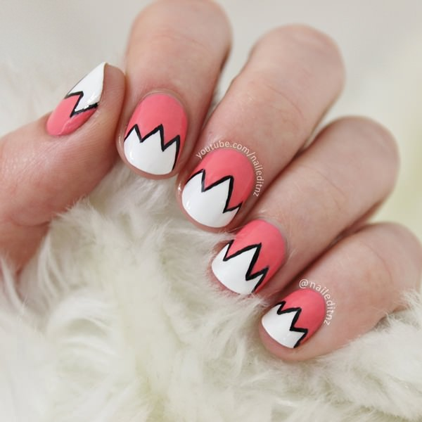 37 Super Easy Nail Design Ideas For Short Nails Pretty Designs