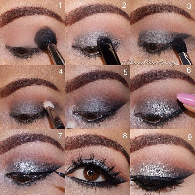 How to makeup eyes step by step