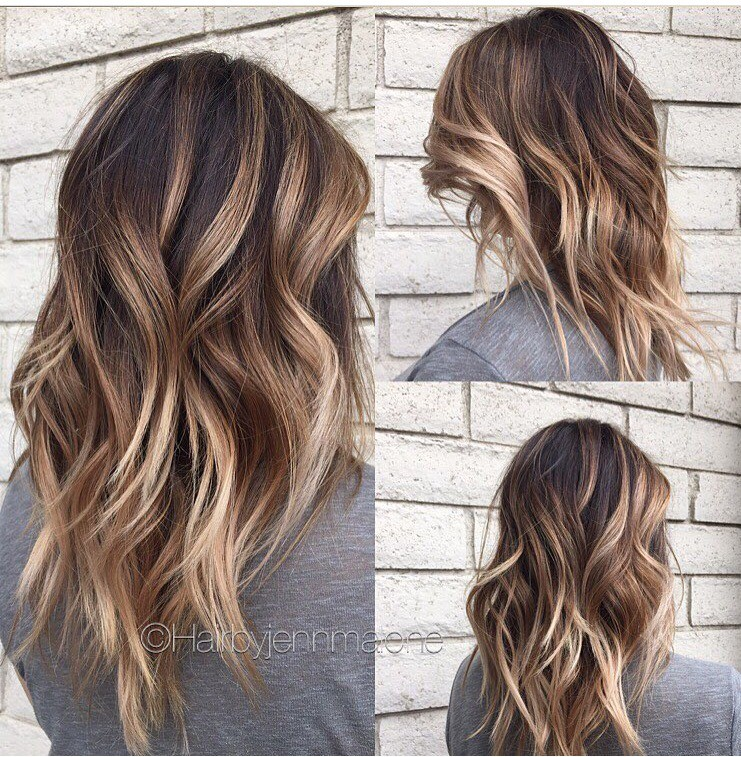 45 Balayage Hairstyles , Balayage Hair Color Ideas with Blonde, Brown,  Caramel,