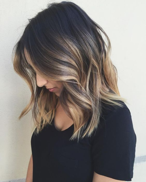 Black Hair With Blonde Highlights For 2018 Hairstyles