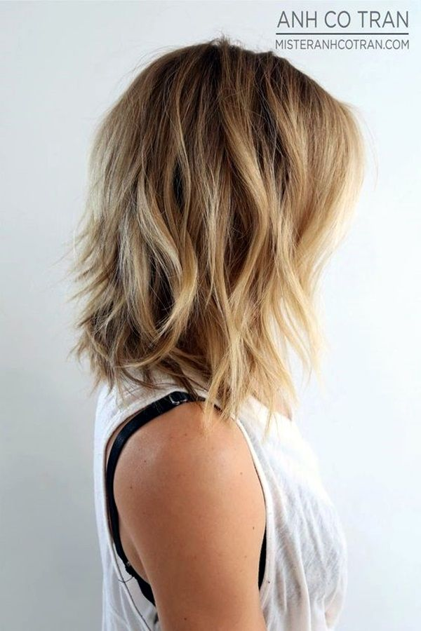 25 Fantastic Easy Medium Haircuts 2020 - Shoulder Length ...