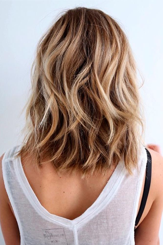 25 Fantastic Easy Medium Haircuts 2018 Shoulder Length Hairstyles