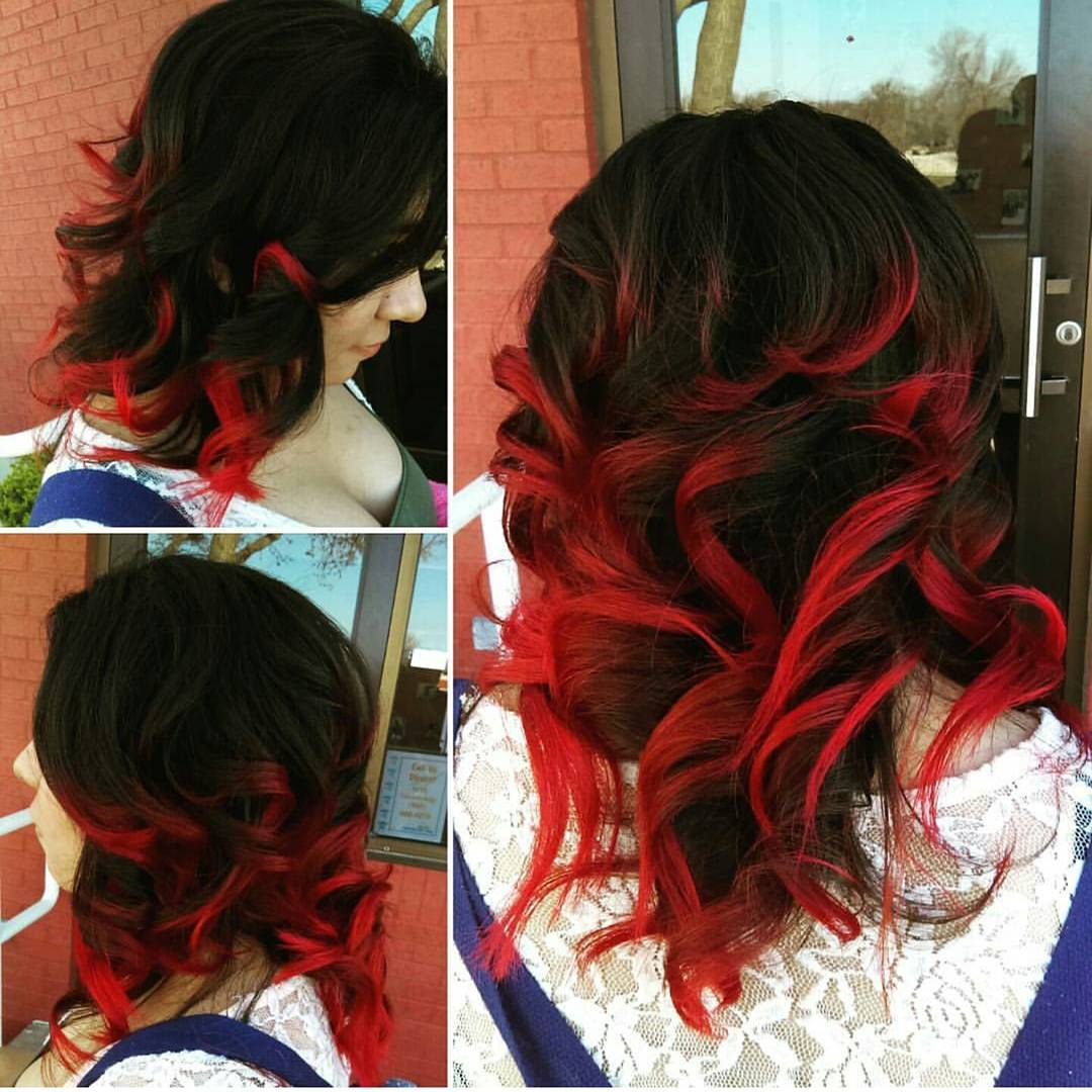 Hair Color Trends For 2018 Red Ombre Hairstyles Pretty