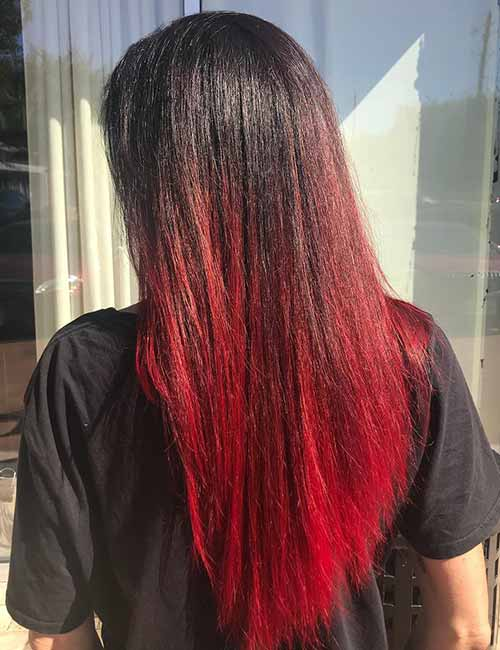 Hair Color Trends For 2020 Red Ombre Hairstyles Pretty
