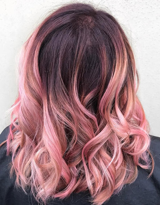 Hair Styles Colors Delectable Hottest Ombre Hair Color Ideas  Trendy Ombre Hairstyles 2018 .