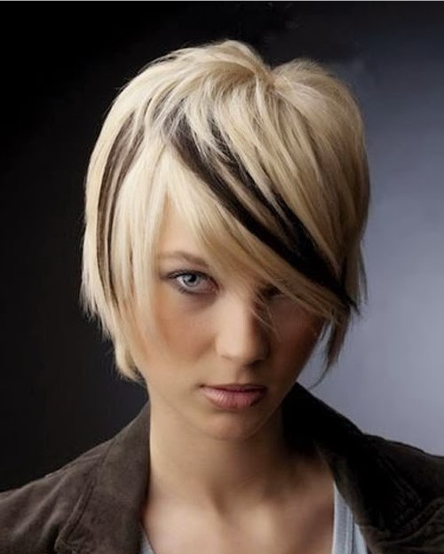 Trendy Hair Color Ideas - Blonde & Black Hairstyles