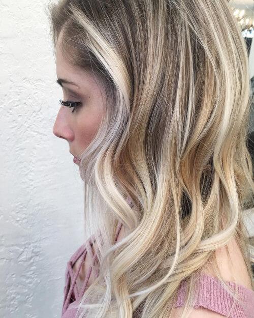 Trendy Hair Color Ideas - Blonde & Black Hairstyles