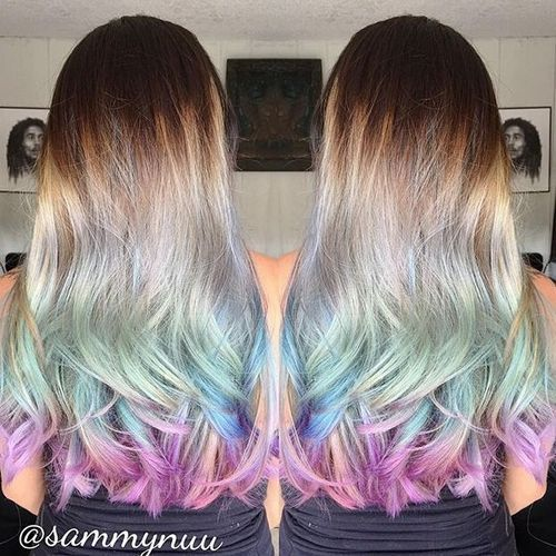 20 Sassy Blue Hair Colors - Ombre, Balayage, Dark Blue Hairstyles - Pretty  Designs