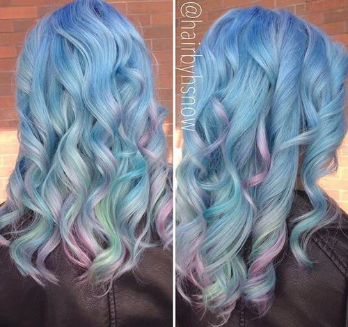 20 Sassy Blue Hair Colors & Styles - Best Blue Hairstyles