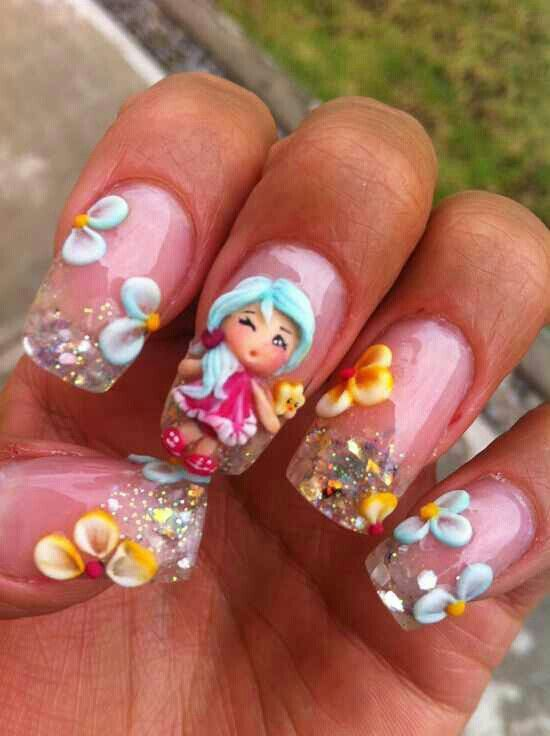Concealer Creasing: 20 Cute Spring Nail Designs 2020