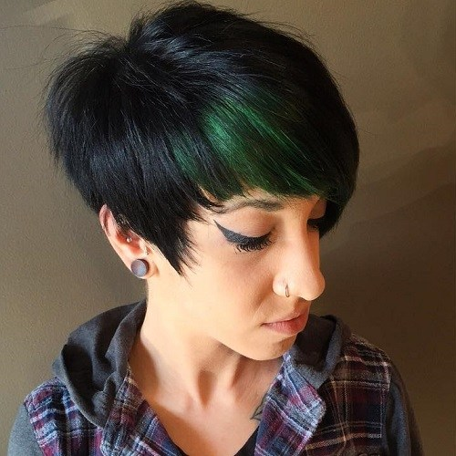 25 Best Hair Color Ideas For Short Pixie Haircuts 2019