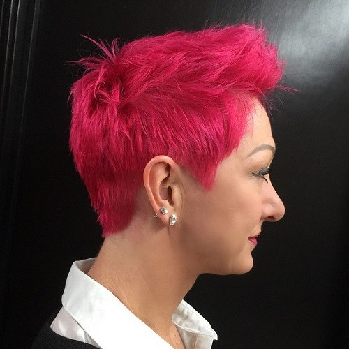 25 Best Hair Color Ideas For Short Pixie Haircuts 2020