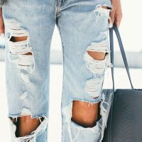 How to Wear Distressed Denim - Super Stylish Ways to Wear Distressed Denim
