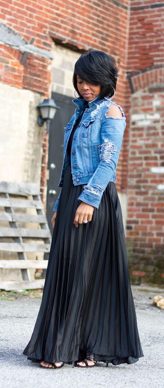 How to Wear Distressed Denim - Super Stylish Ways to Wear Distressed Denim