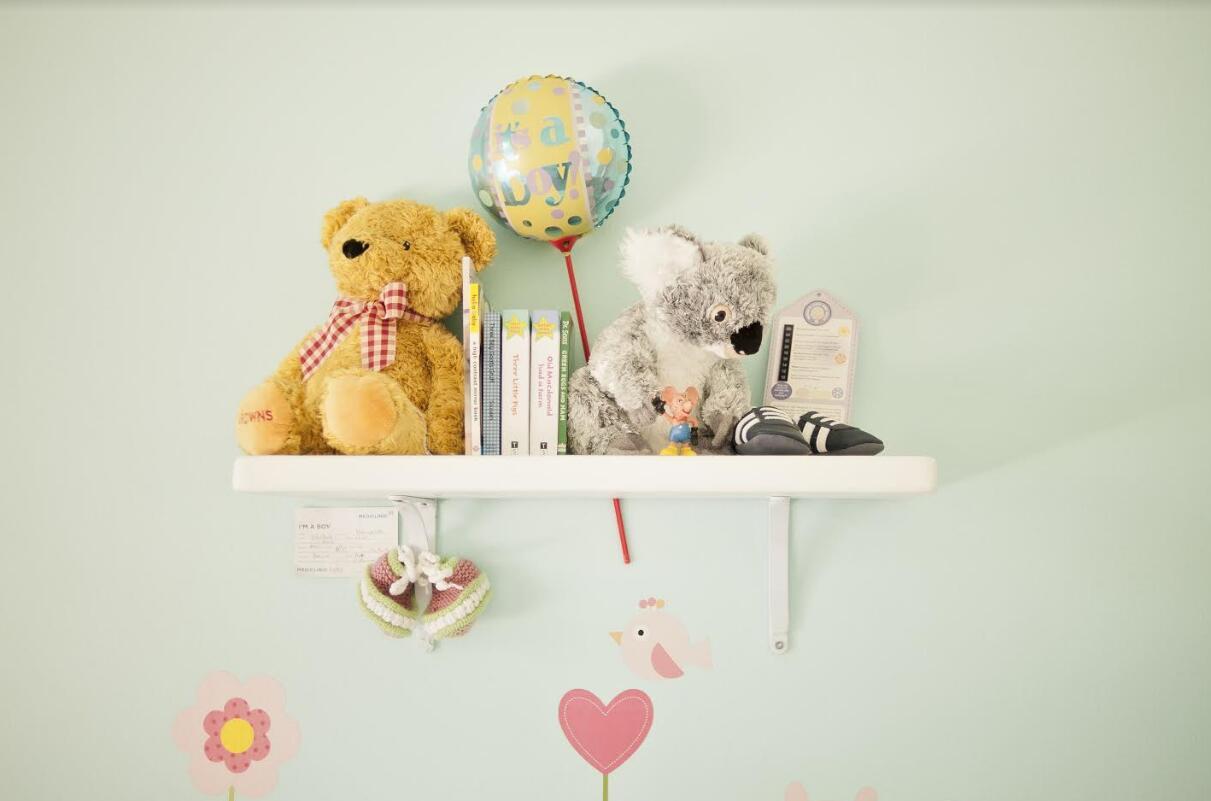 cute bear wall stickers