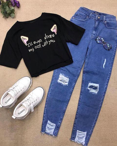 How to Rock Boyfriend Jeans