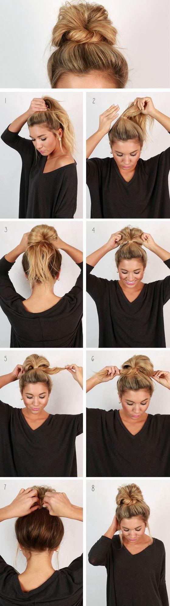 7款髮型編制法,讓你擁有女神的氣質! articlelike