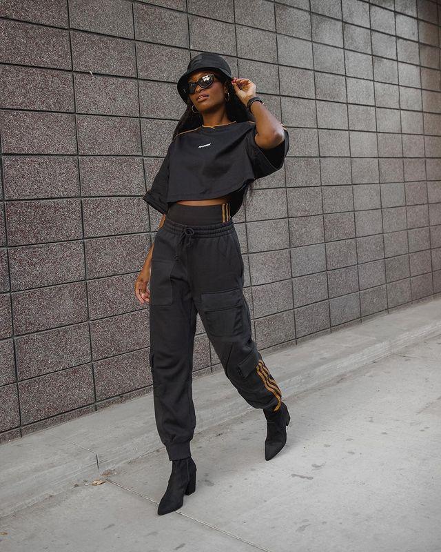 Wie man Jogginghosen trägt -15 Trendy Jogginghosen Outfits Ideen für Frauen